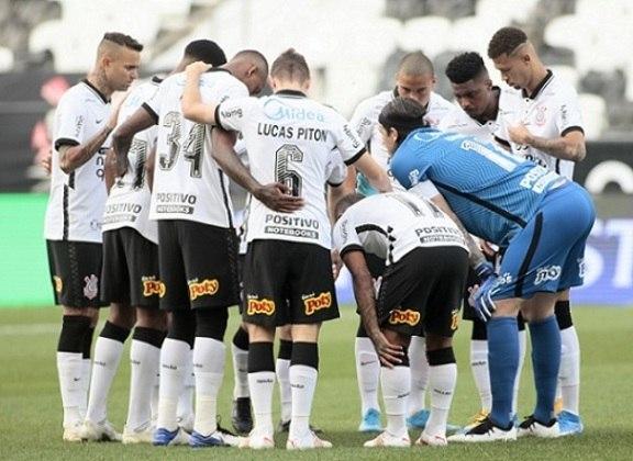 8º lugar - Corinthians: Valor total do elenco segundo o site Transfermarkt: 51,85 milhões de euros (aproximadamente R$ 335,87 milhões)