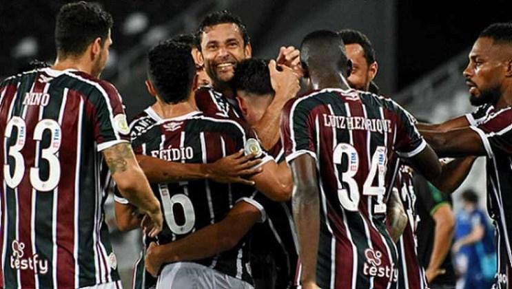 8º lugar: Fluminense (80.482 reações de amor - 10.451 reações de raiva = 70.031 de felicidade líquida)