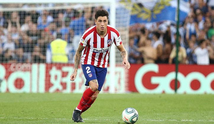 8º lugar: José María Giménez - Zagueiro - Uruguai - Atlético de Madri - Valor: 60 milhões de euros (aproximadamente R$ 359,15 milhões)