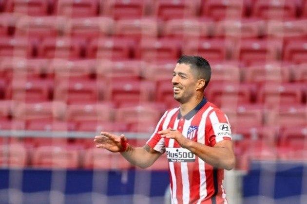 8º: Luis Suárez (Atlético de Madrid) - 19 gols / 38 pontos