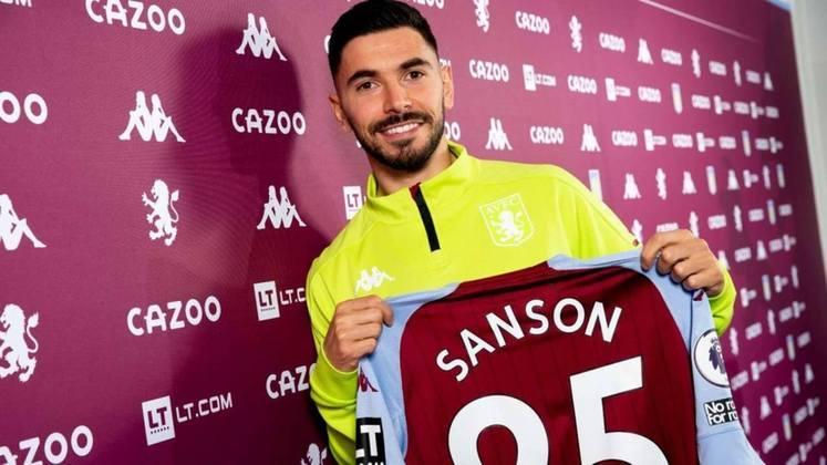 8º – Morgan Sanson - O Aston Villa buscou o meia francês, de 26 anos, no Olympique de Marselha, por 15,8 milhões de euros (R$ 104 milhões).