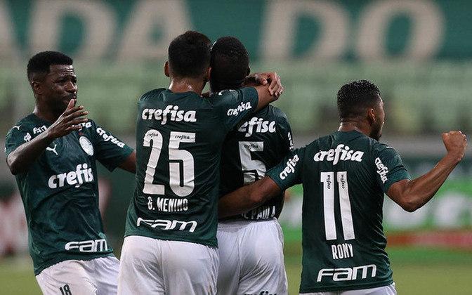 8º - Palmeiras - 1,45 milhões.
