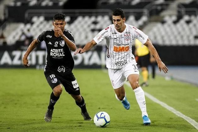 8ª Rodada - Corinthians x Botafogo - Arena Corinthians - 5/9 - sábado - 19h