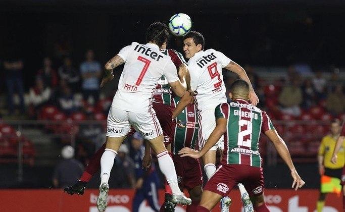8ª rodada - São Paulo x Fluminense - Jogo será no domingo, 6 de setembro, no Morumbi, às 16h. No ano passado, o São Paulo venceu no Maracanã (2 a 1) e perdeu no Morumbi (2 a 0). Curiosidade: Diniz foi derrotado nos dois duelos.