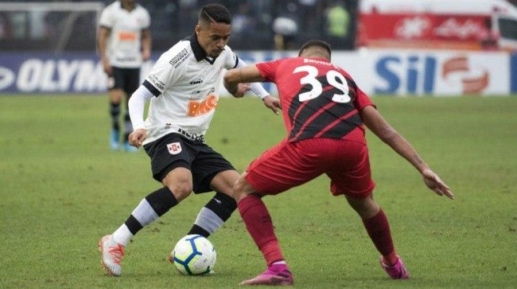 8ª rodada - Vasco x Athletico-PR - 5/9 - 19h - São Januário