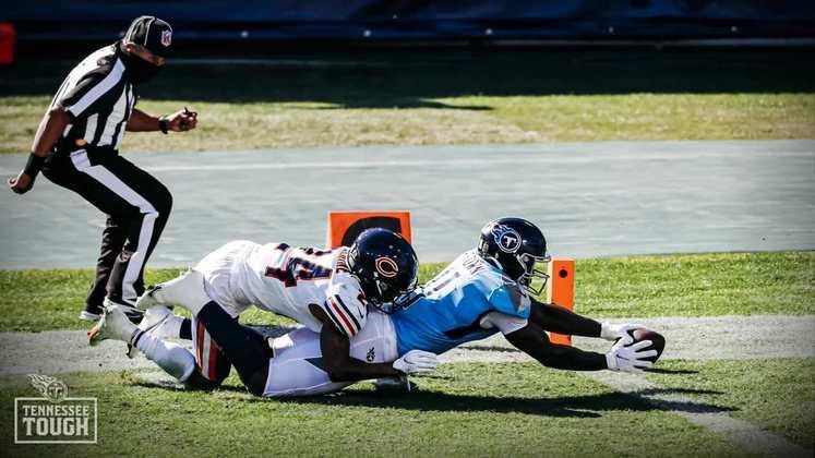 8º Tennessee Titans - Uma vitória que veio a calhar para evitar a má fase. O ataque segue eficiente, a defesa precisa evoluir.