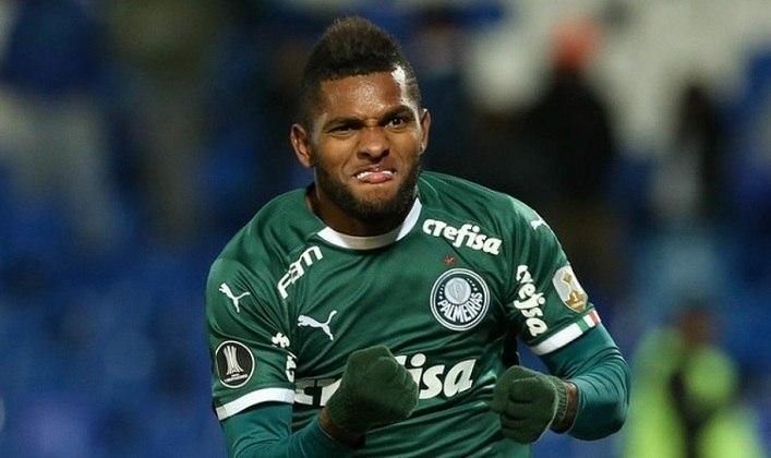 8 – Vindo como uma grande promessa, o colombiano Miguel Borja acabou não atendendo a todas as expectativas. Atualmente emprestado ao Junior Barranquilla, o atacante tem 65 vitórias com o Palmeiras.