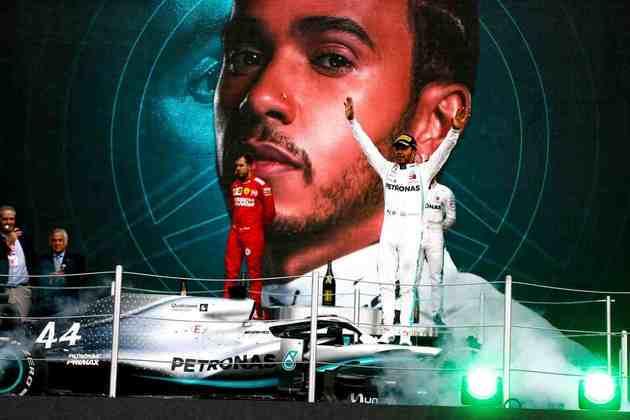 83 - Após vencer o hexacampeonato mundial na etapa anterior, Hamilton conquistou o GP do México de 2019
