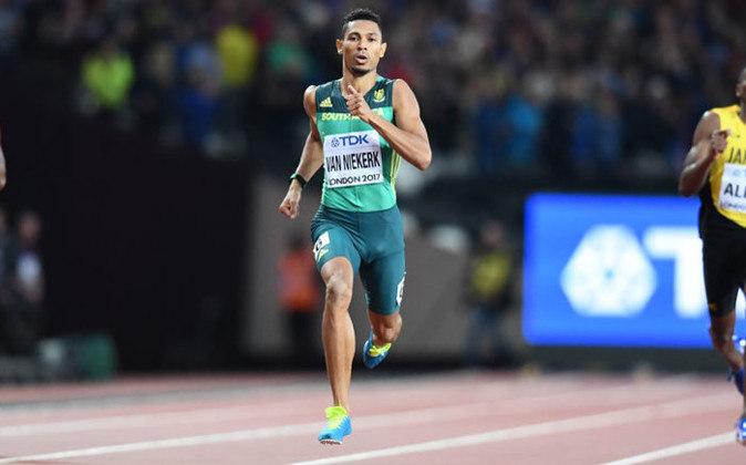 83) Wayde van Niekerk (África do Sul) - Atletismo