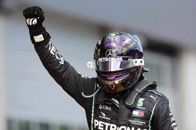 85 - Após um azar na abertura da temporada, Hamilton dominou o GP da Estíria e iniciou a sequência de vitória em 2020