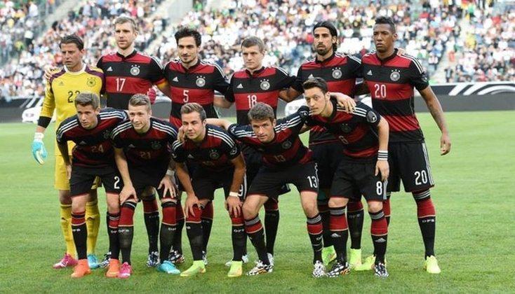 9º - Alemanha - 1 título - Em 2014 foi a vez da Alemanha se sagrar campeã do mundo no Maracanã.