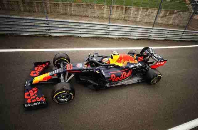 9) Alexander Albon (Red Bull), 1min26s669