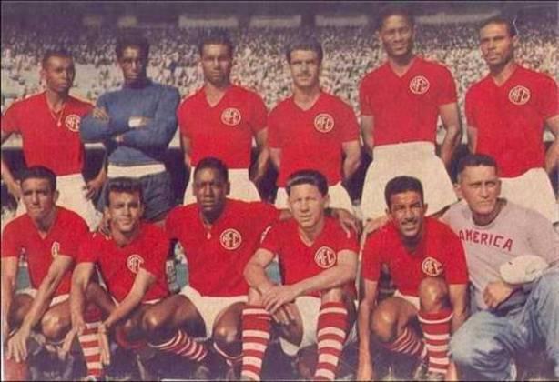 9º - América-RJ - 1 título - O América tem 7 títulos cariocas em sua história, porém, apenas um na