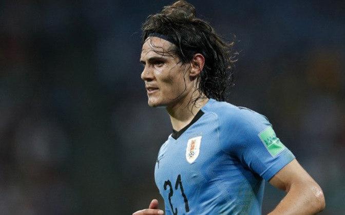 9º - Cavani - Uruguai - 15 gols