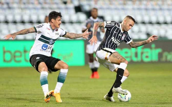 9º colocado – Corinthians (29 pontos) – 0,076% de chances de título; 6,8% para vaga na Libertadores (G6); 10,3% de chance de rebaixamento.