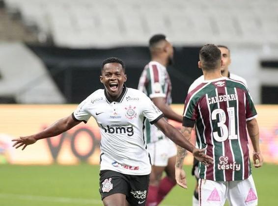 9º colocado – Corinthians (42 pontos/28 jogos): 0.12% de chances de ser campeão; 19% de chances de Libertadores (G6); 0.001% de chances de rebaixamento.