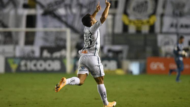 9º colocado – Santos (50 pontos/35 jogos): 0.0% de chances de ser campeão; 40.9% de chances de Libertadores (G6); 0% de chances de rebaixamento.