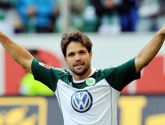 9º - Diego - 2006/2014 - 56 gols em 161 jogos