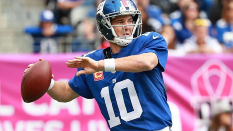 9º Eli Manning - 366 touchdowns