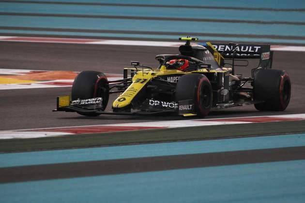 9 - Esteban Ocon (Renault) - 6.12 - Ganha méritos pela última volta.