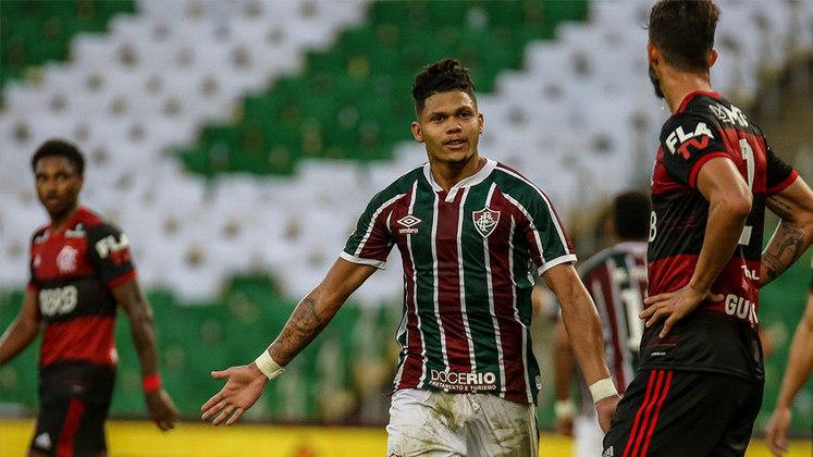 9º - Evanílson - Fluminense - 7 gols em 20 jogos