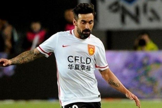 9 - Ezequiel Lavezzi (Hebei China Fortune-CHI): R$ 122,1 milhões anuais.