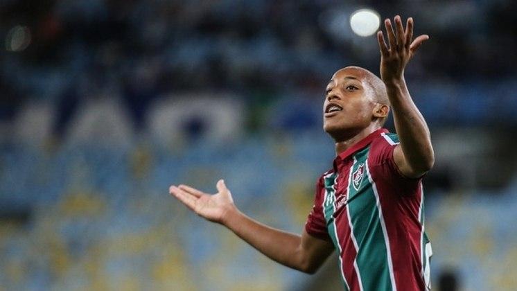 9º - FLUMINENSE - O Tricolor Carioca teve um ganho de 458,7 milhões de reais com a venda de jogadores, como o atacante João Pedro (foto) e o meia Gerson