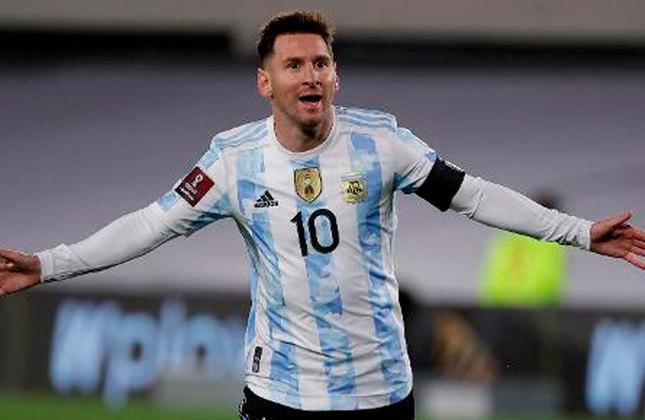 9° - Lionel Messi (ARG): 51 gols em 140 jogos. (Hoje: 34 anos / Time atual: PSG)