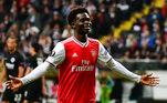 9º lugar: Bukayo Saka (Arsenal) - 2001