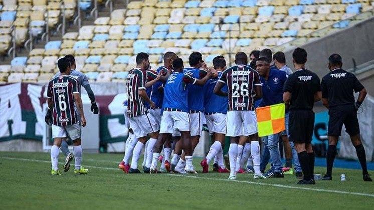 9º lugar - Fluminense: Valor total do elenco segundo o site Transfermarkt: 50,68 milhões de euros (aproximadamente R$ 328,29 milhões)
