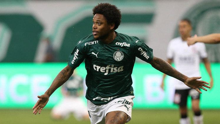 9º - Luiz Adriano - Palmeiras - 2 gols