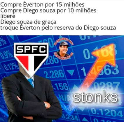 9. NEGÓCIO DA CHINA? A troca entre São Paulo e Grêmio envolvendo Luciano e Éverton acabou virando meme. Para os torcedores do time paulista, uma grande trapalhada da diretoria. E agora?