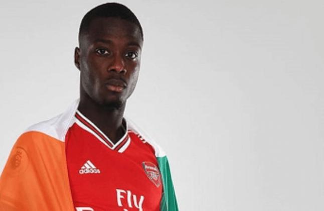 9 - NICOLAS PÉPÉ - O Lille pagou R$ 64 milhões em 2018, mas vendeu por R$ 512 milhões ao Arsenal: lucro de R$ 448 milhões