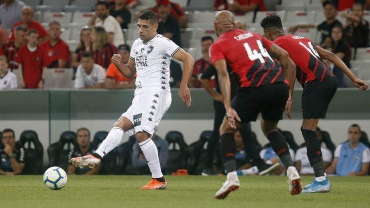 9ª rodada - Athletico-PR x Botafogo - O Furacão transmitiria pela TNT outro jogo na Arena da Baixada: o duelo com o Botafogo, que tem direitos ligados à Rede Globo.