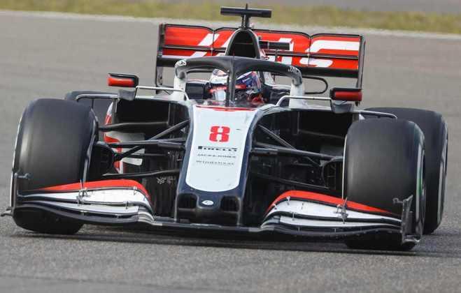 9º - Romain Grosjean (Haas) - 7.50 - Melhor atuação dele em muito tempo. Dois pontos salvadores para a Haas