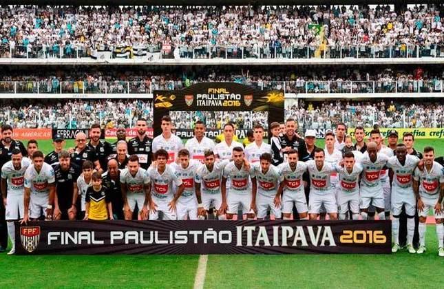 9° - Santos (5,50 milhões de torcedores) - Quatro títulos: Uma Recopa Sul-Americana (2012) e três estaduais (2012, 2015 e 2016).