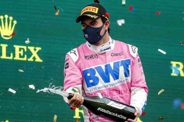 9) Sergio Perez (Racing Point) - € 4 milhões (R$ 25,8 milhões)