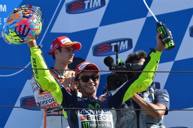 9) Valentino Rossi (Itália) - Motociclismo