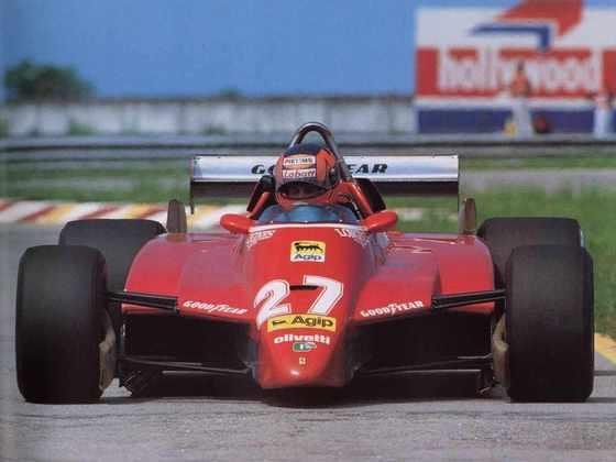 9 - Vice-campeão de 1979 e sempre na memória dos fãs, Gilles Villeneuve tem 6 triunfos