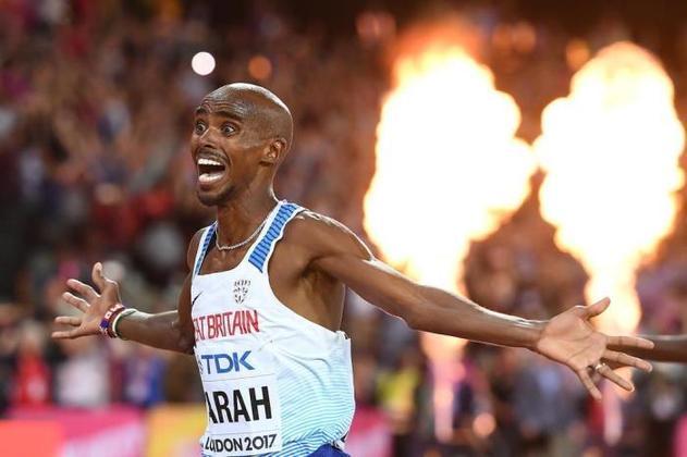 90) Mo Farah (Grã-Bretanha) - Atletismo