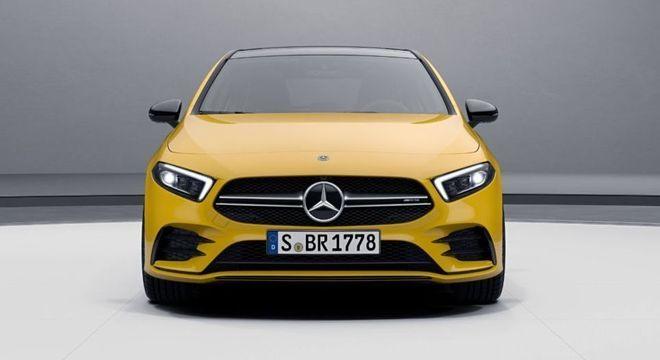 A 35 AMG chega ao país por R$ 279 mil mas versão Launch Edition custa um pouco mais: R$ 285 mil
