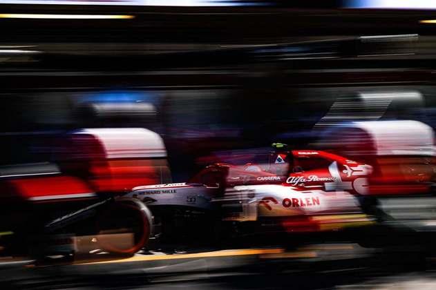 A Alfa Romeo não conseguiu colocar seus carros no Q2 do GP de Portugal