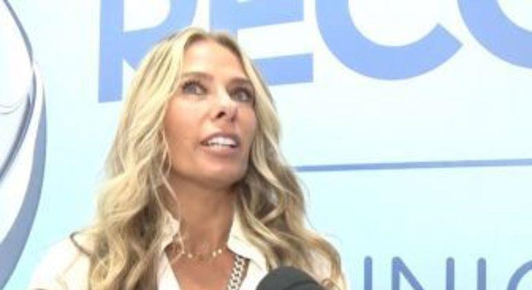 A apresentadora Adriane Galisteu. Foto: Reprodução