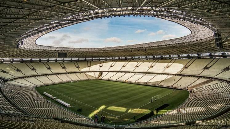 A Arena Castelão foi fundada em 11 de novembro de 1973, ou seja, tem 46 anos. Sua reinauguração foi realizada em 23 de janeiro de 2013 para a recepção de jogos da Copa do Mundo de 2014 e foi um dos centros de treinamento para a Olimpíada, em 2016.