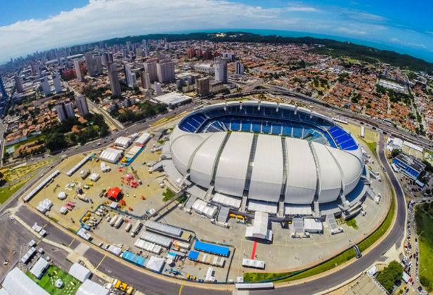 A Arena das Dunas, localizada na cidade de Natal, no Rio Grande do Norte, foi inaugurada em 2014 para a realização da Copa do Mundo. Ela foi erguida no lugar do estádio João Machado, datado de 1972, ou seja, há 48 anos.