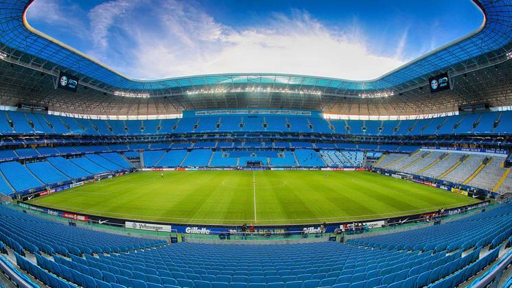 A Arena do Grêmio teve sua reinauguração em dezembro de 2012, portanto, são sete anos de história, com jogos da Copa do Mundo de 2014, Copa América, título da Copa do Brasil, entre outros.