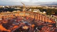 Futura casa do Galo, a Arena MRV está ficando com 'cara' de estádio