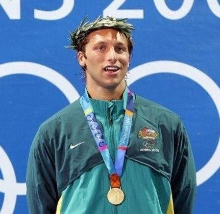 A Austrália é o oitavo país com mais medalhas olímpicas na história. Os australianos conquistaram 497 insígnias, sendo 188 na natação - o recorde de ouros é de Ian Thorpe (foto), com cinco.