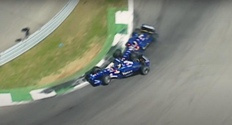 A Áustria é um frequente local para batidas entre companheiros. Um bom exemplo é o duelo da Prost entre Jean Alesi e Nick Heidfeld