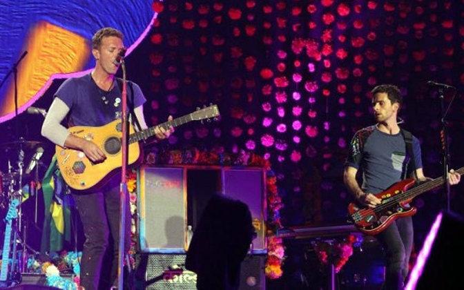 A banda COLDPLAY levou 66 mil pessoas no dia 11 de abril de 2016 para apresentar a turnê
